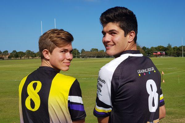 Eerste rugby en hokkiespanne
